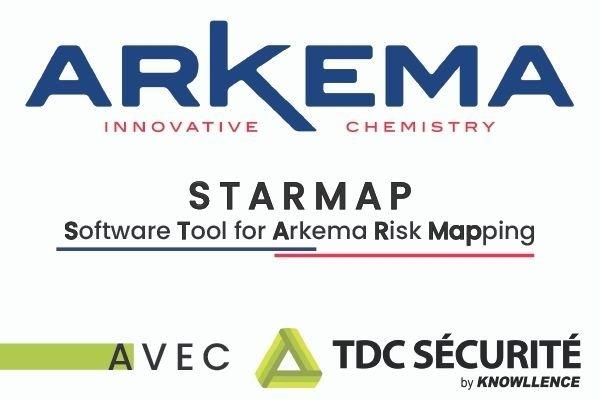 Outil STARMAP Arkema: Déploiement mondial de TDC Sécurité
