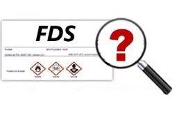 Collecte et veille sur ls FDS, fiches de données Sécurité