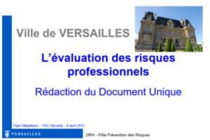 Ville de Versailles Client de TDC Sécurité