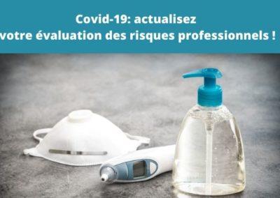 Après Covid-19 : actualisez l'évaluation des risques professionnels!