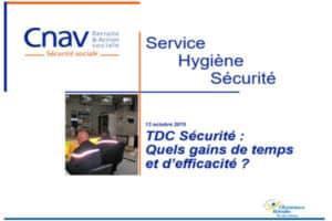 CNAV gains avec tdc sécurité