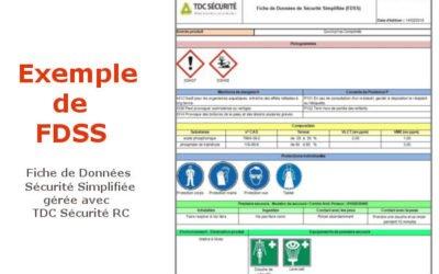 Les FDSS : comment communiquer facilement sur le risque chimique