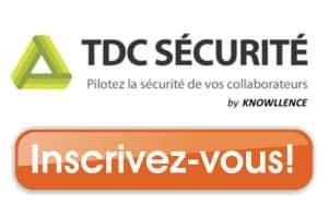 inscrivez-vous aux actualités de tdc securite