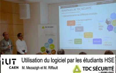 Partenariat réussi avec l'IUT HSE de Caen – Site de Vire