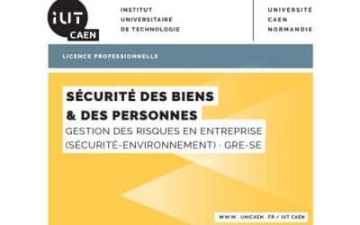 14 mars : Journée Prévention Sécurité 2017,  IUT HSE Vire