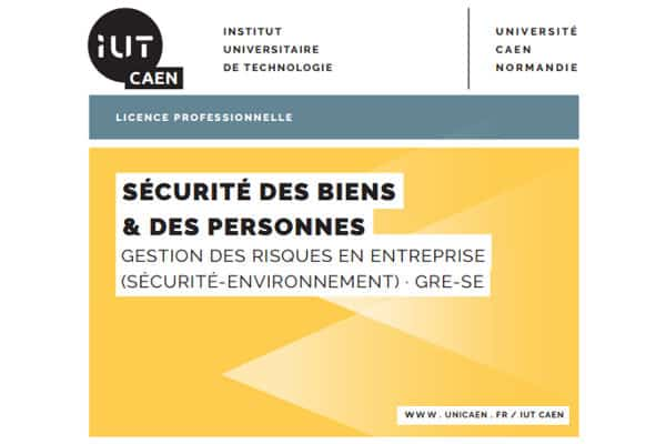 Journée Sécurité 2017 IUT de Vire