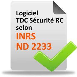 logiciel risque chimique selon inrs nd 2233
