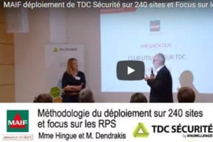 MAIF utilise TDC Sécurité pour gérer DUERP et RPS