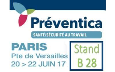 @tdcsecurite : Gagnez un cadeau sur notre stand @Préventica Paris 2017- 20, 21, 22 juin !