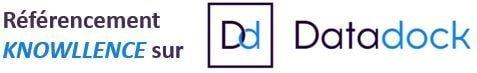 Knowllence est référencé sur Datadock (qualité des formations)