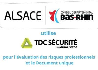 L'avis du Bas-Rhin sur TDC Sécurité, logiciel EvRP et RPS