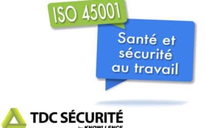Webinaire ISO 45001:2018 : pourquoi choisir TDC Sécurité