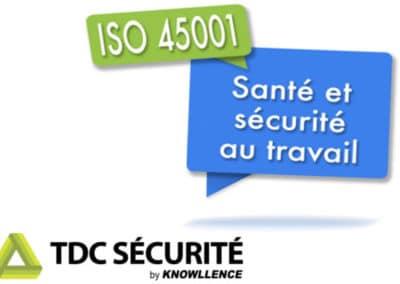ISO 45001 : 4 bonnes raisons de choisir TDC Sécurité !