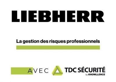 Le Service EHS de Liebherr Aerospace Toulouse utilise TDC Sécurité