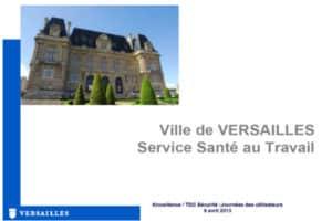 Ville de Versailles utilise TDC Sécurité