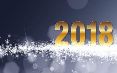 Nos meilleurs vœux pour 2018 !