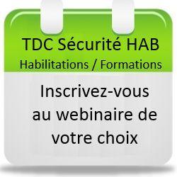 Webinaire TDC Sécurité Logiciel Habilitations Formations