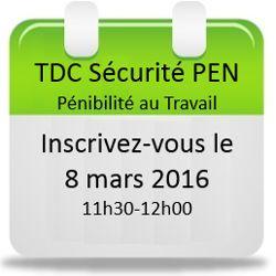 Inscrivez-vous au webinaire du 8 mars Logiciel TDC Sécurité Pénibilité au Travail !